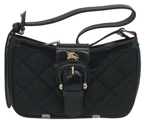 Burberry Nylon Quilted Baguette