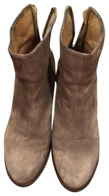 Item - Taupe Suade Boots/Booties Size US 9 Regular (M, B)