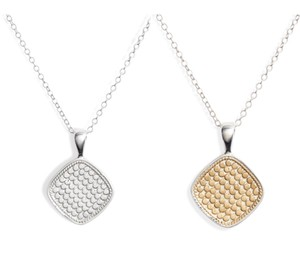 Anna Beck Reversible Cushion Pendant Necklace