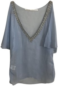 Twelfth St. by Cynthia Vincent Street New Chanel Top Blue