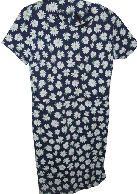 Item - Cheerful Bodycon Cotton Stretch For Work Or Play Short Cocktail Dress Size 8 (M)