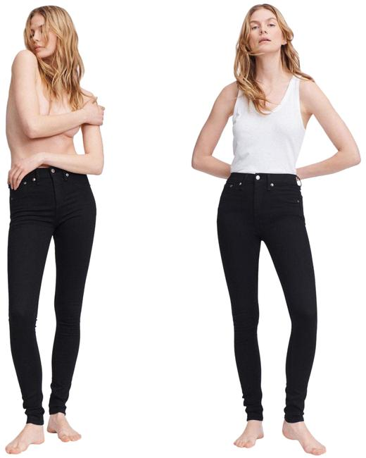 Item - Black Dark Rinse Nina High Jeggings Stretch Pants New with Tags Skinny Jeans Size 12 (L, 32, 33)