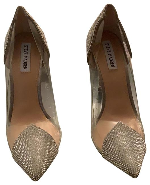Steve Madden Clear Price Is Negotiable Platforms Size US 10 Narrow (Aa, N) Steve Madden Clear Price Is Negotiable Platforms Size US 10 Narrow (Aa, N) Image 1