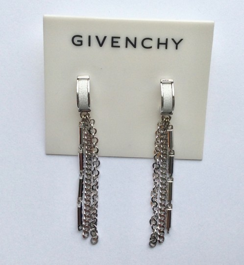 Givenchy C Hoop Linear Earrings Image 1