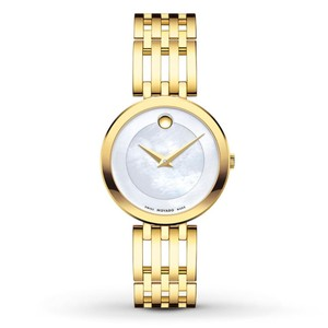 Movado Esperanza Stainless Steel Mother of Pearl Womens 0607054