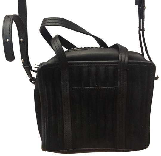 Preload https://img-static.tradesy.com/item/26513054/steven-alan-small-black-suede-and-leather-cross-body-bag-0-1-540-540.jpg