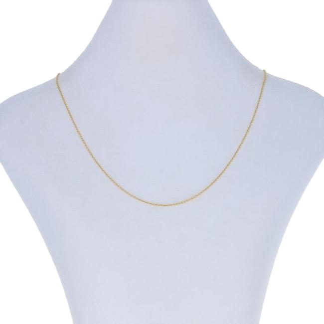 """Wilson Brothers Jewelry Yellow New Cable Chain 18"""" - 14k Gold Italian E7395 Necklace Wilson Brothers Jewelry Yellow New Cable Chain 18"""" - 14k Gold Italian E7395 Necklace Image 1"""