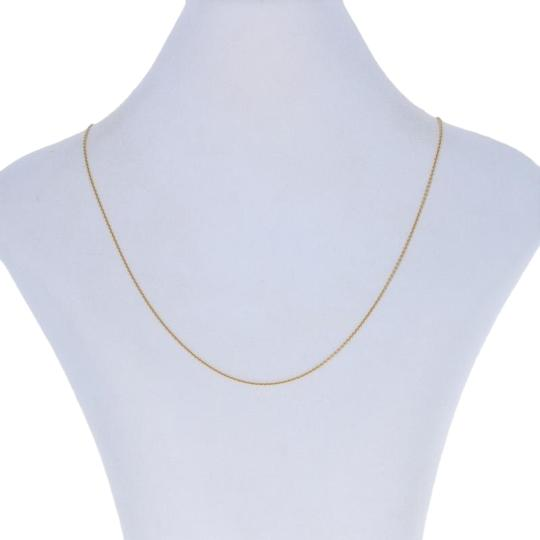 Preload https://img-static.tradesy.com/item/26513477/yellow-new-cable-chain-34-14k-gold-italian-e7396-necklace-0-1-540-540.jpg