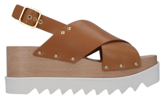 Stella McCartney Brown Percy Sandals Size EU 41 (Approx. US 11) Regular (M, B) Stella McCartney Brown Percy Sandals Size EU 41 (Approx. US 11) Regular (M, B) Image 1