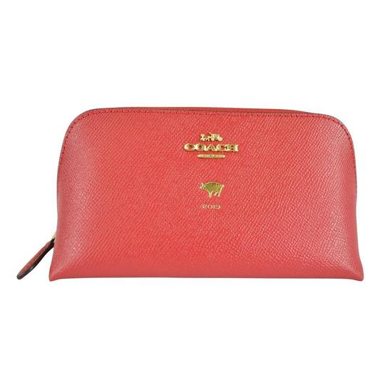Preload https://img-static.tradesy.com/item/26513700/coach-lucky-red-year-of-the-pig-2019-cosmetic-bag-0-0-540-540.jpg