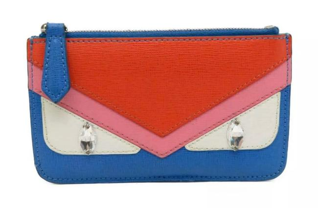 Fendi Multicolor Key Pouch Crayons Bugs Wallet Fendi Multicolor Key Pouch Crayons Bugs Wallet Image 1