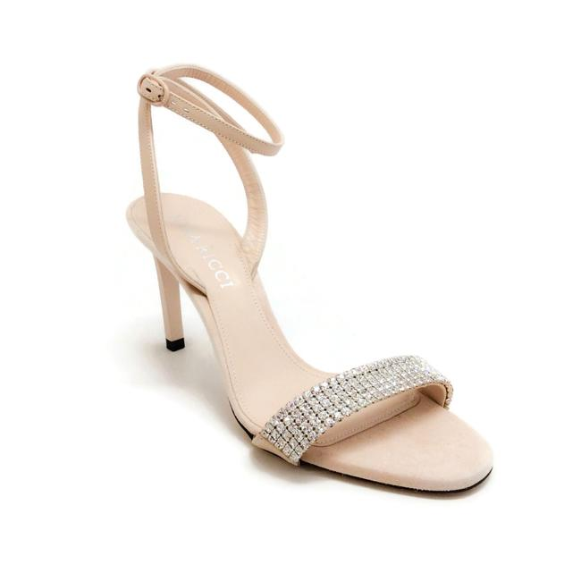 Nina Ricci Bisque Crystal Embellished Sandals Size EU 35 (Approx. US 5) Regular (M, B) Nina Ricci Bisque Crystal Embellished Sandals Size EU 35 (Approx. US 5) Regular (M, B) Image 1