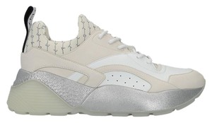 Stella McCartney Eclypse Sneakers White & Silver Athletic