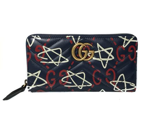 Preload https://img-static.tradesy.com/item/26514440/gucci-blue-new-448087-ghost-and-stars-apollo-leather-zip-around-wallet-0-0-540-540.jpg