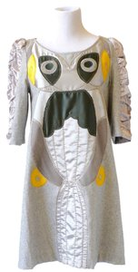 Tsumori Chisato Owl Wool Sleeves Unique Dress