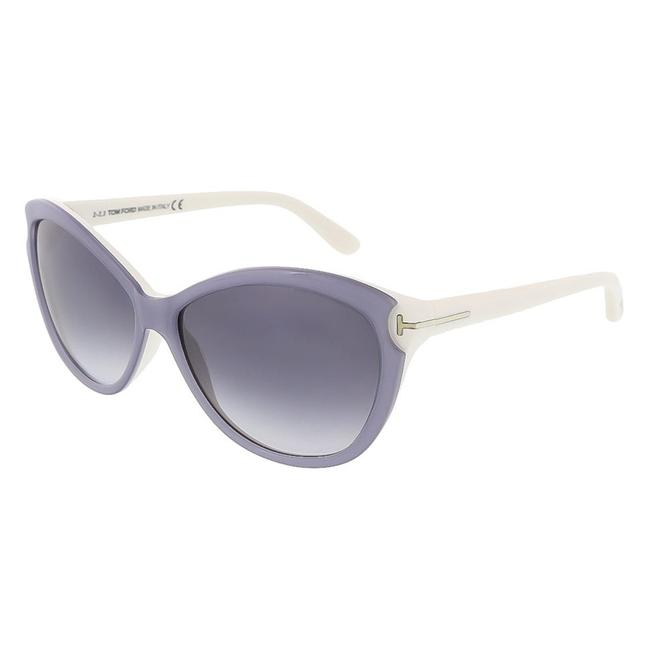 Item - Silver White Telma Tf325 with Grey Gradient Lens Sunglasses