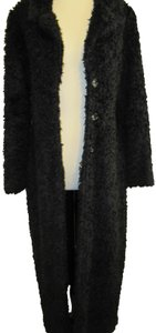 Aziz Duster Jacket Duster Shag Shag Faux Fur Coat