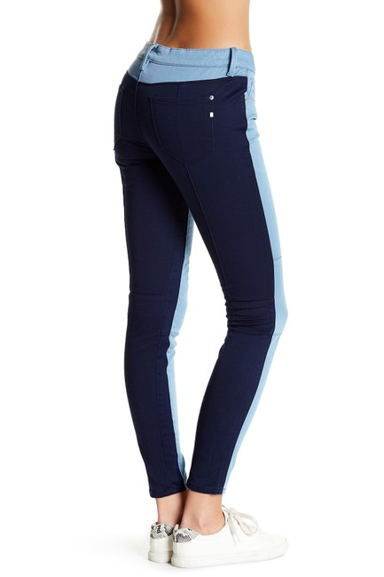 Item - Blue Hyde Super Royal Two-tone Skinny Jeans Size 29 (6, M)