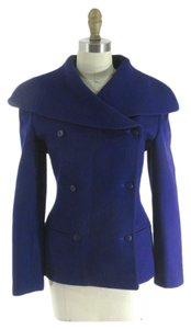 Claude Montana Paris Vintage Wool Pea Coat