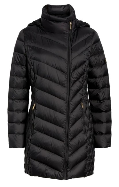 Item - Black XS Quilted Down Packable Puffer -- Down Coat Size 0 (XS)