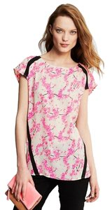 Banana Republic Floral Top pink