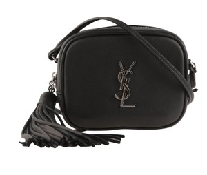 Saint Laurent Silver Hardware Cross Body Bag