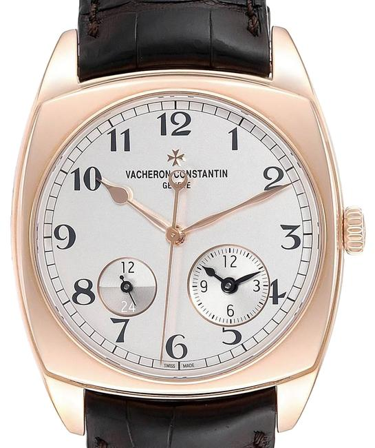 Item - Silver Opaline Harmony Dual Time Rose Gold Mens 7810s Watch