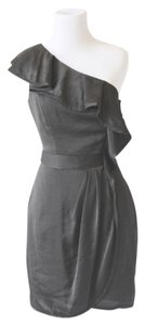 BCBGeneration Gunmetal Dress