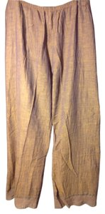 dosa Lace Cotton Made In India Capris Tan