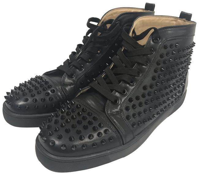 Item - Black Louis Allover Spikes High Top Sneakers Size US 11 Regular (M, B)