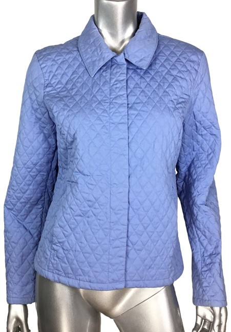 Item - Blue Quilted Jacket Size 12 (L)