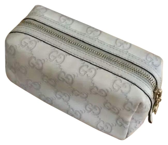 Item - Beige ssima Leather / Pouch. Cosmetic Bag