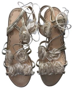 Marchesa gold Sandals