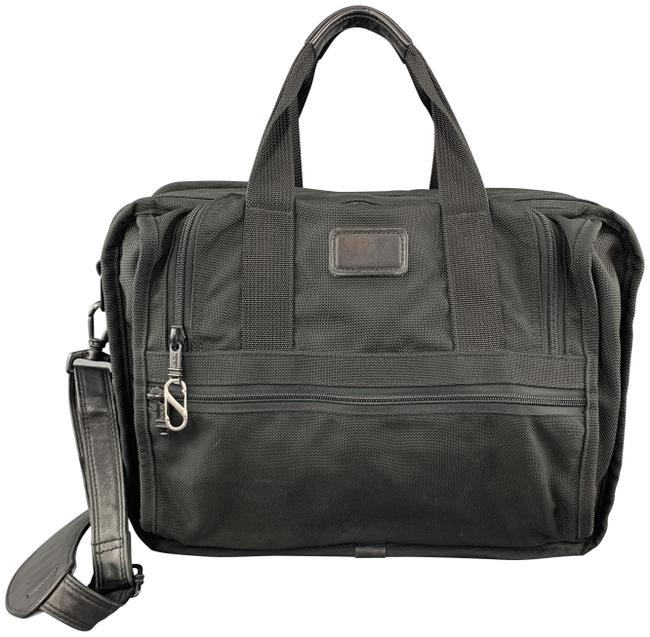 Item - Canvas Carry On Black Nylon Weekend/Travel Bag