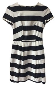 H&M Striped Office Dress