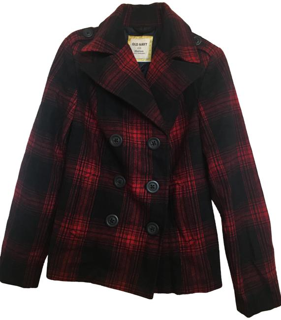 Item - Red and Black Coat Size 8 (M)