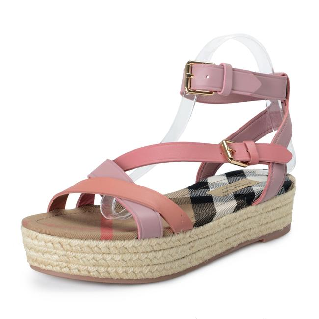 Burberry Pink Shoes-4635 Sandals Size US 6 Regular (M, B) Burberry Pink Shoes-4635 Sandals Size US 6 Regular (M, B) Image 1