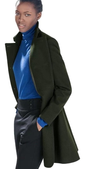 Item - Green Double Breasted Coat Size 4 (S)