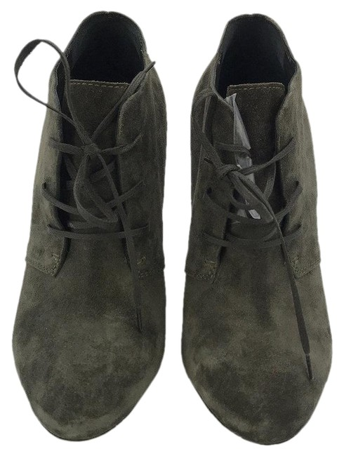 Item - Grey Yves Suede Stiletto 8.5 Boots/Booties Size EU 38.5 (Approx. US 8.5) Regular (M, B)
