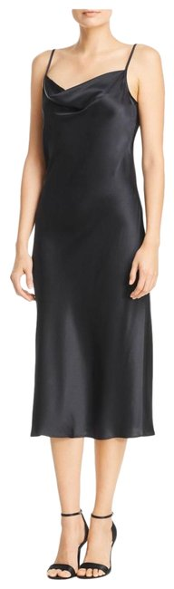 Item - Black (Caviar) Marcenna Slip Mid-length Casual Maxi Dress Size 00 (XXS)