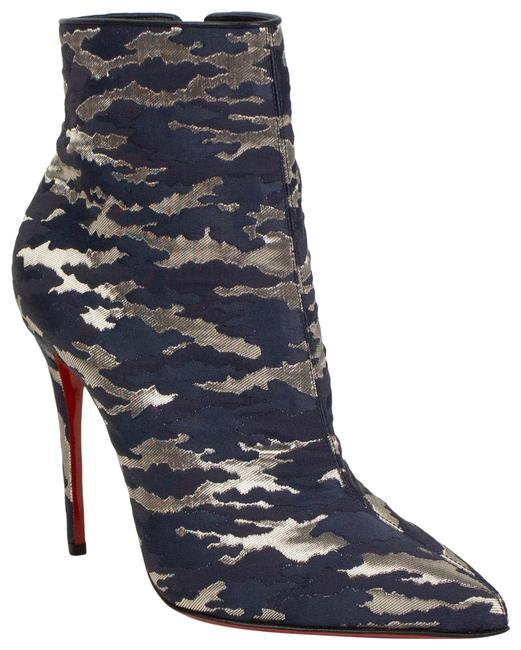 Item - Blue Camo 'so Kate' Ankle Boots/Booties Size EU 36.5 (Approx. US 6.5) Regular (M, B)