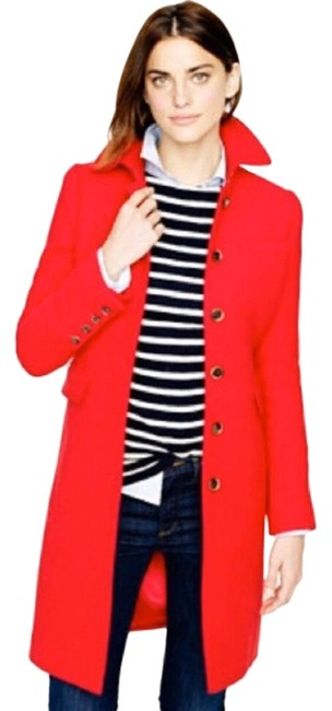 Item - Red Double-cloth Metro with Thinsulate Coat Size 0 (XS)