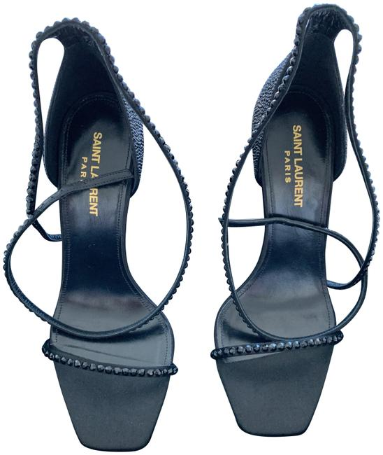 Item - Black Ysl Heels Formal Shoes Size EU 38 (Approx. US 8) Regular (M, B)