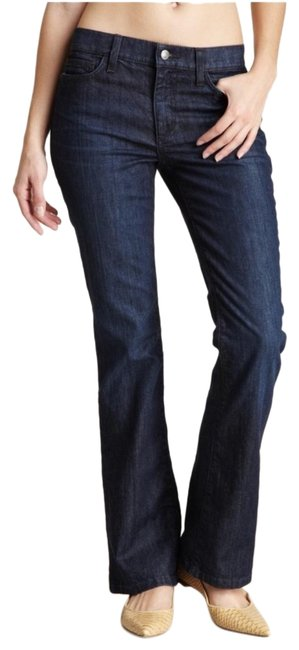 Item - Blue Dark Rinse Socialite Boot Cut Jeans Size 25 (2, XS)