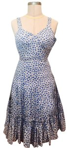 Marc by Marc Jacobs short dress blue and white floral print Vintage on Tradesy