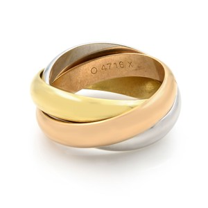 Cartier Trinity Classic Band Ring SZ 4.5