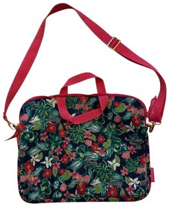Lilly Pulitzer NWOT Floral Neoprene Laptop Case with Strap