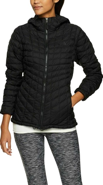 Item - Black Women's Thermoball Hoodie Outdoor Coat Jacket Size 2 (XS)