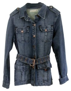 Vigoss Dark Blue Womens Jean Jacket