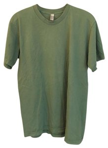 American Apparel T Shirt green